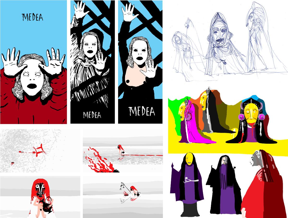 Medea - First Ideas - Early preproduction art