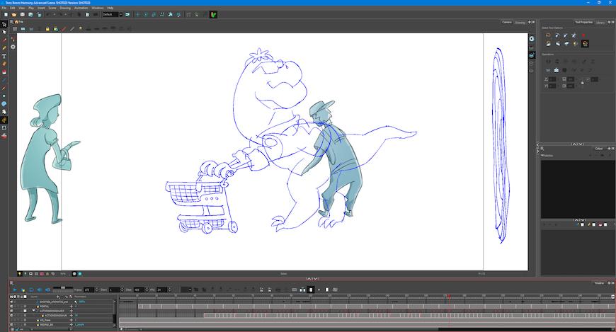 toon-boom-harmony-action-dinosaur